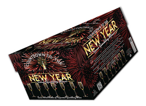 New Year Fireworks Box